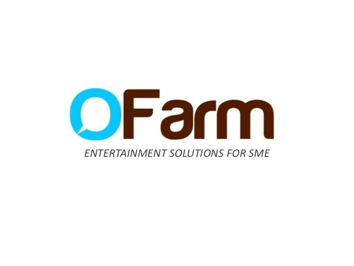 Use of entertainment solutions for small and medium enterprises marketing