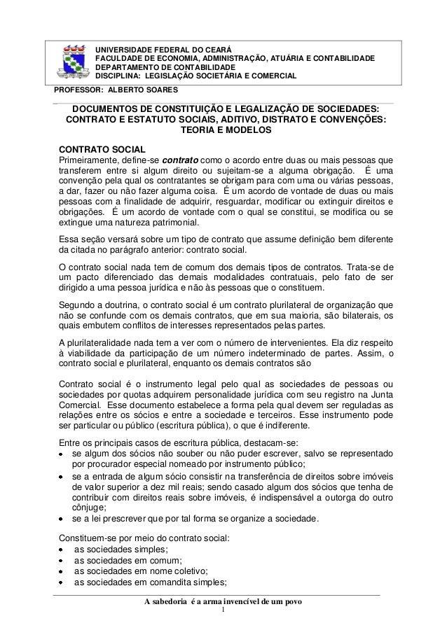 UNIVERSIDADE FEDERAL DO CEARÁ FACULDADE DE ECONOMIA, ADMINISTRAÇÃO, ATUÁRIA E CONTABILIDADE DEPARTAMENTO DE CONTABILIDADE ...