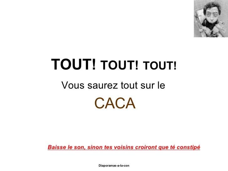 06 Vous Saurez Tout Sur Le Caca