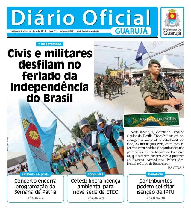 Diário Oficial - 07/09/2013