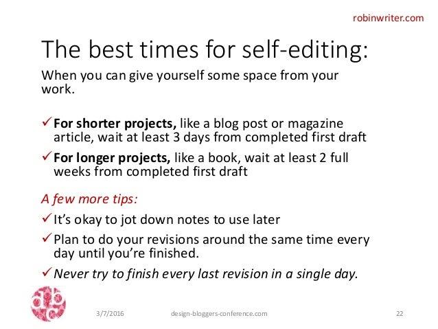 Best editing books