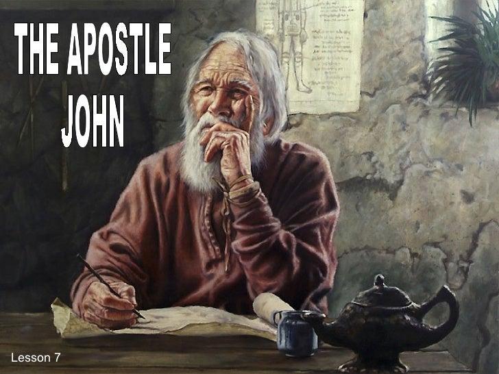 07 Apostol John Sef   Eng