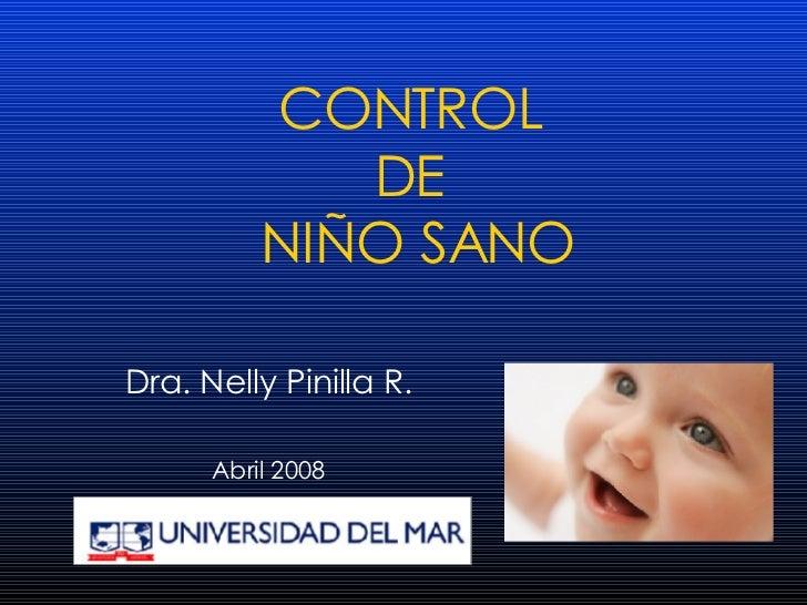 07 Control NiñO Sano Dra Pinilla