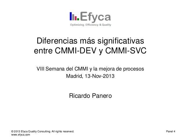 07 efyca- diferencias cmmi dev-svc v1.0