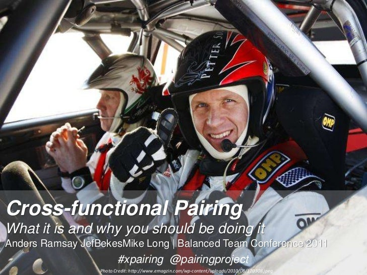 Cross-functional PairingWhat it is and why you should be doing itAnders Ramsay JefBekesMike Long | Balanced Team Conferenc...