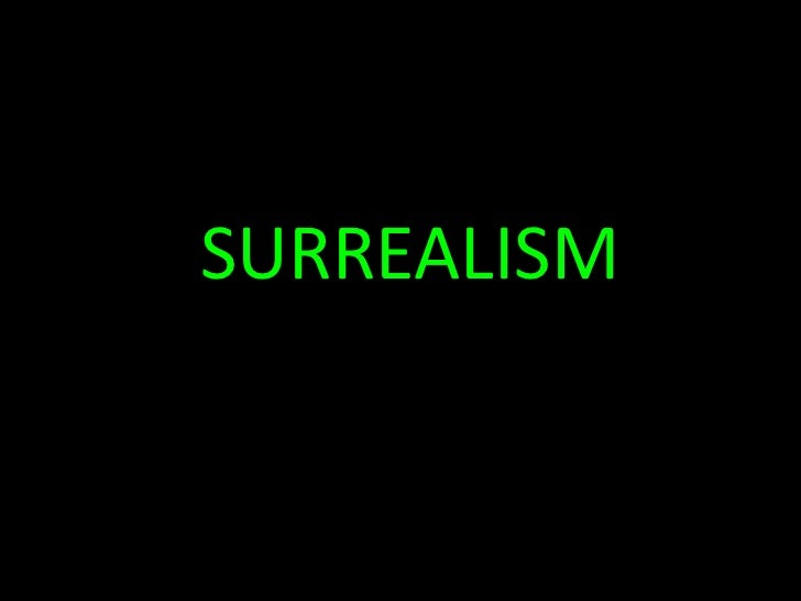 07 surrealism-abstract expressionism