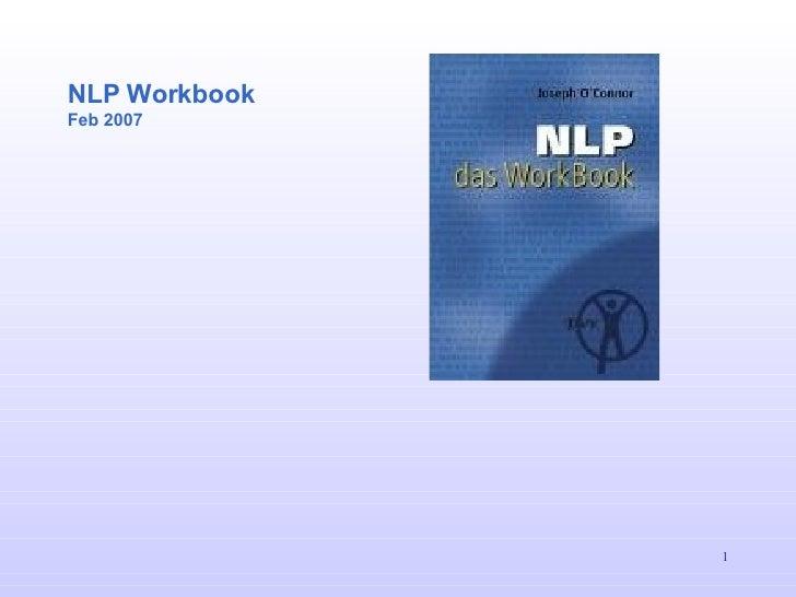 NLP Workbook Feb 2007