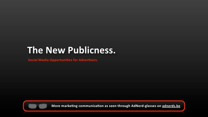 The New Publicness