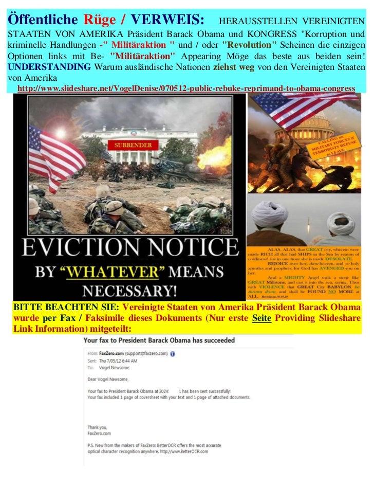 Öffentliche Rüge / VERWEIS:                        HERAUSSTELLEN VEREINIGTENSTAATEN VON AMERIKA Präsident Barack Obama und...