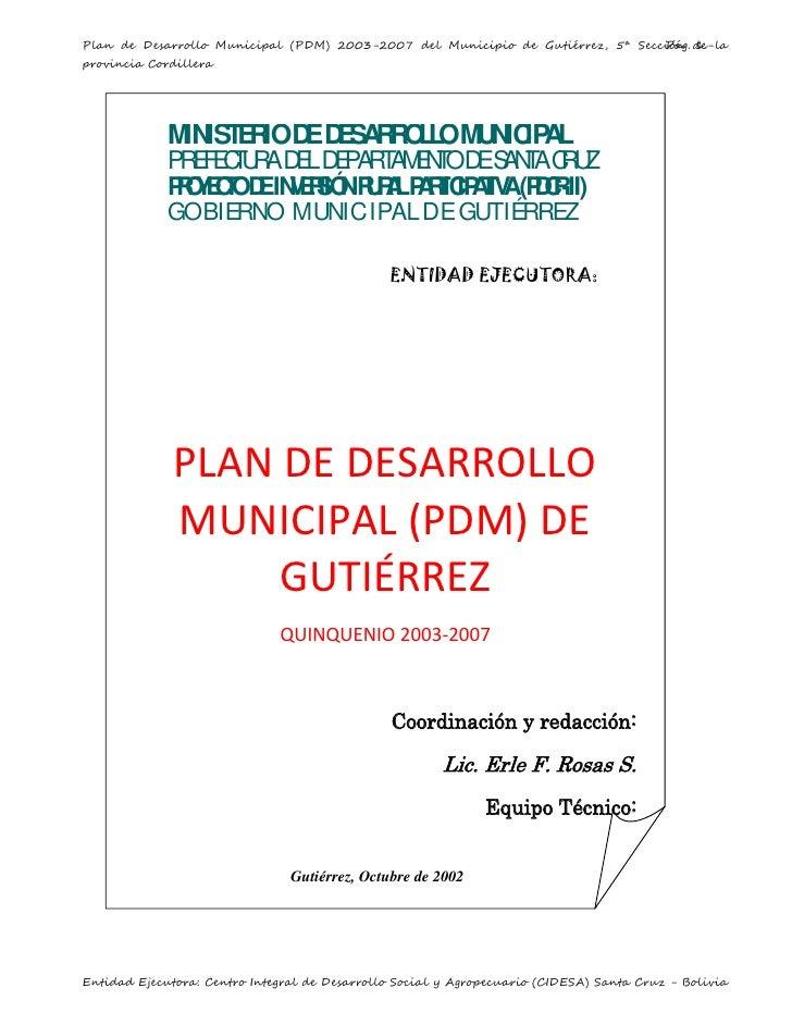 PDM Gutiérrez