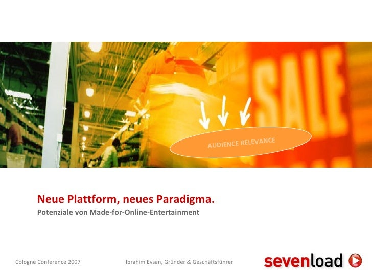 Neue Plattform, neues Paradigma. Potenziale von Made-for-Online-Entertainment AUDIENCE RELEVANCE