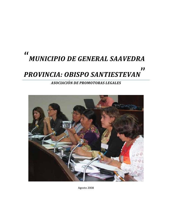 PDM General Saavedra