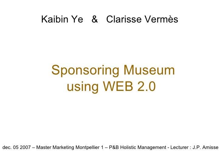 Holistic Marketing - Museum 2.0