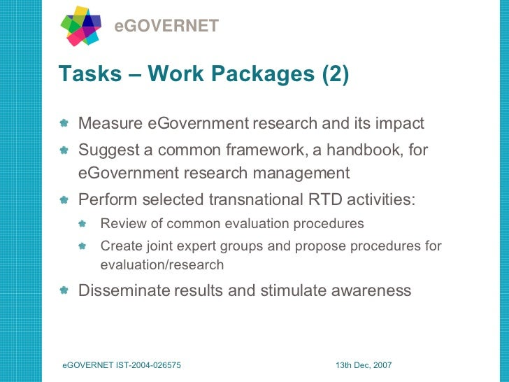 Phd research proposal in egovernment and education