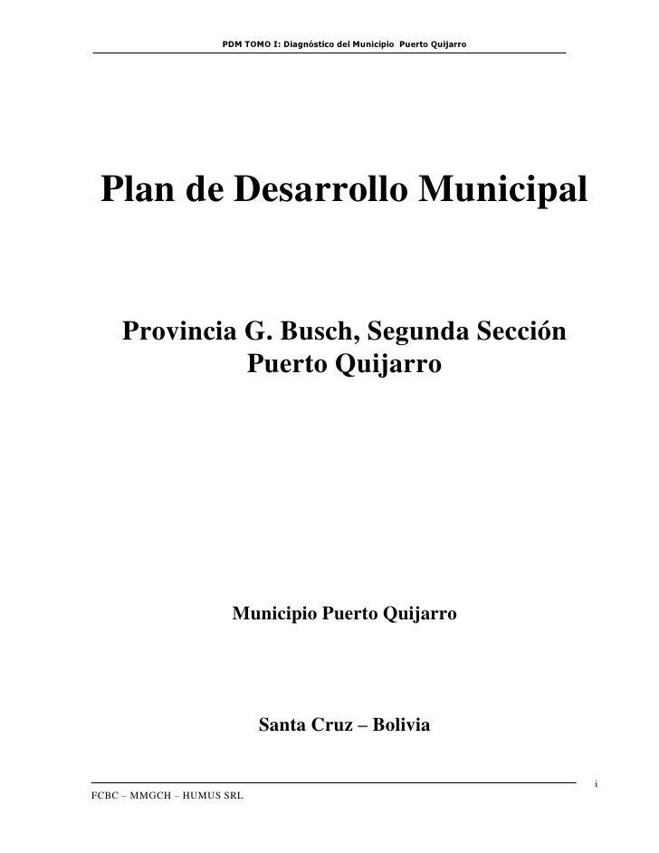 PDM Puerto Quijarro