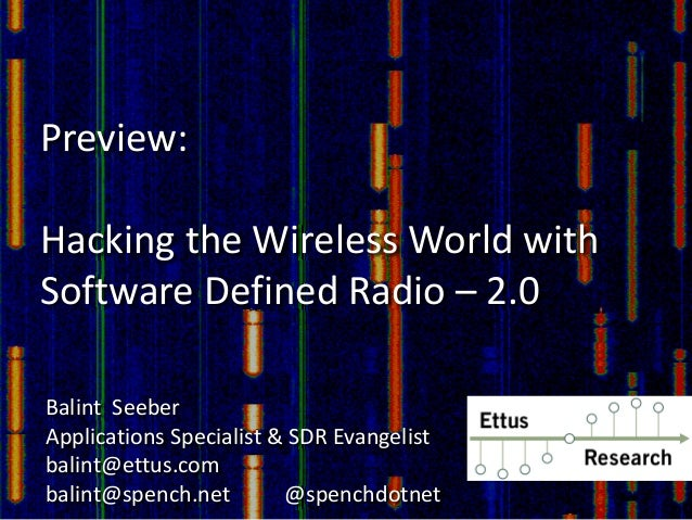 Software Defined Radio For Rfid Application Software Defined Radio