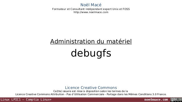 LPIC1 07 18 debugfs