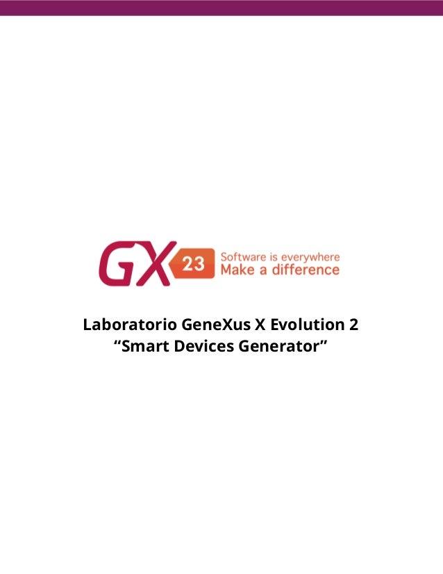 Laboratorio desarrollo para Smart Devices