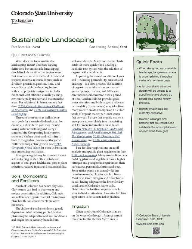 Sustainable Landscaping: How To Guide