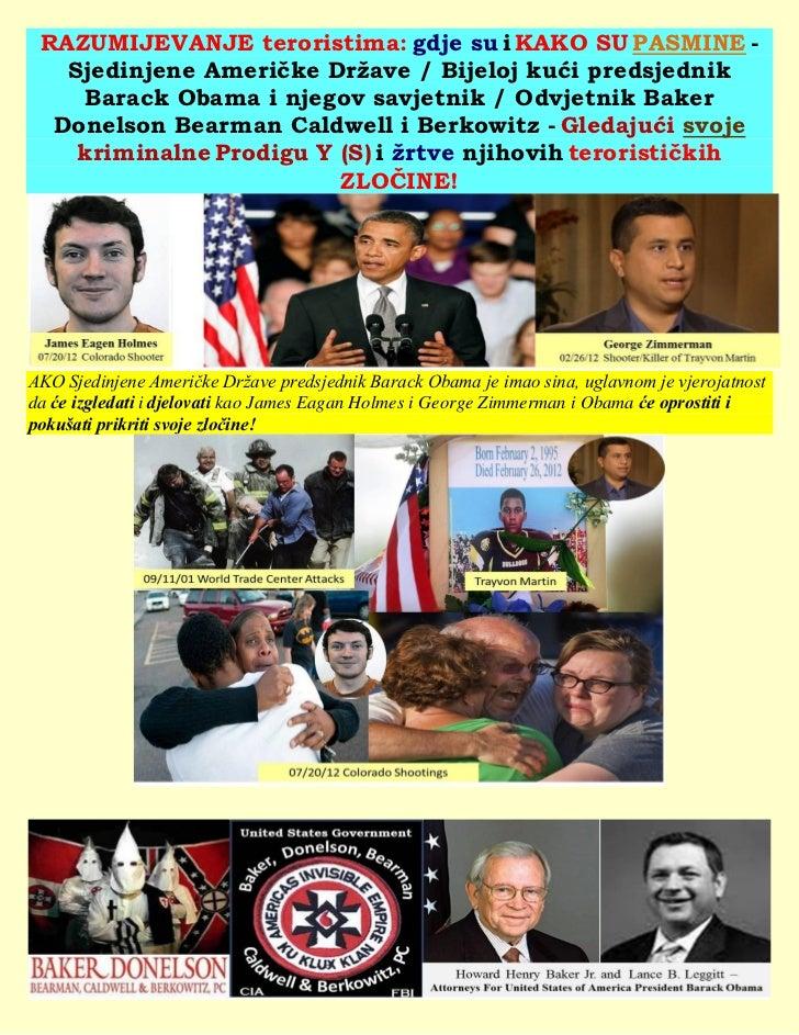 RAZUMIJEVANJE teroristima: gdje su i KAKO SU PASMINE -   Sjedinjene Američke Države / Bijeloj kući predsjednik     Barack ...
