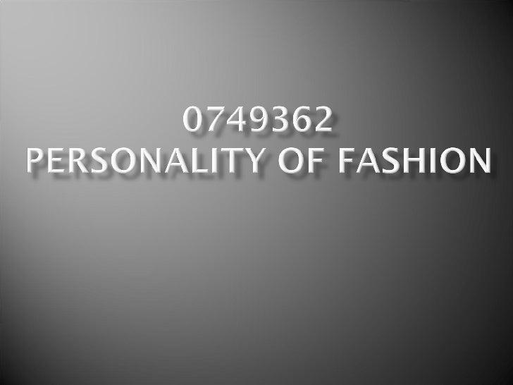 0749362personalityoffashion