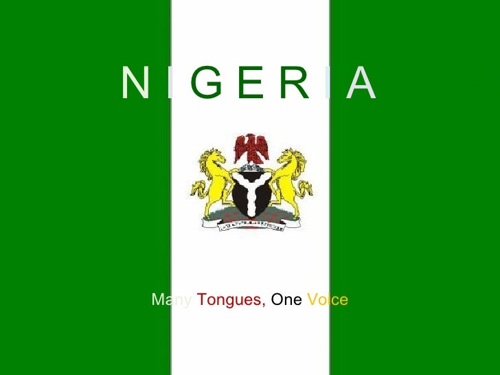 0771182 The Nigeria I Know