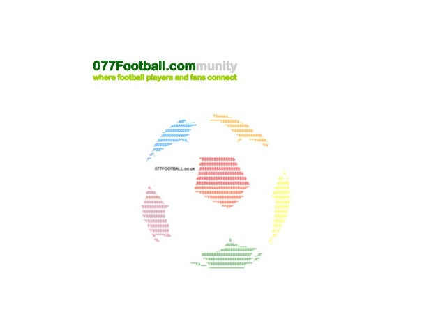 077Football.community where football players and fans connect