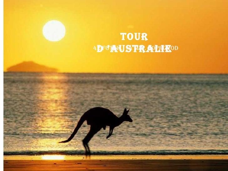 Tour d'Australie 42 fotek,  4 min. doprovod
