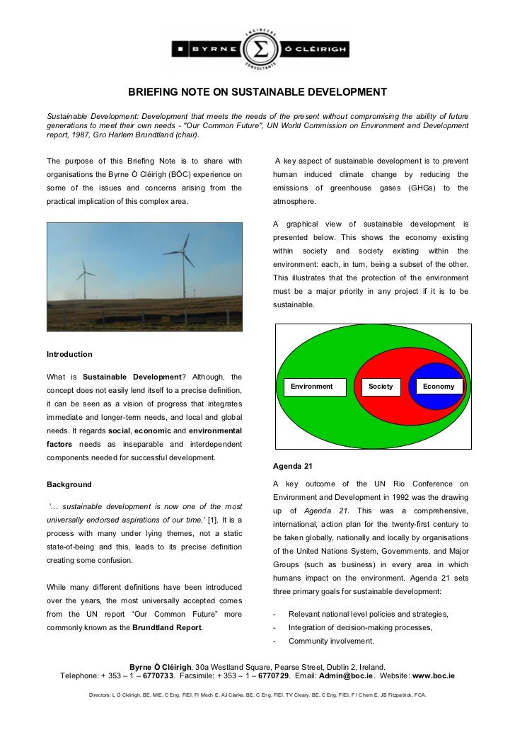 07 a0123 sustainable development briefing note