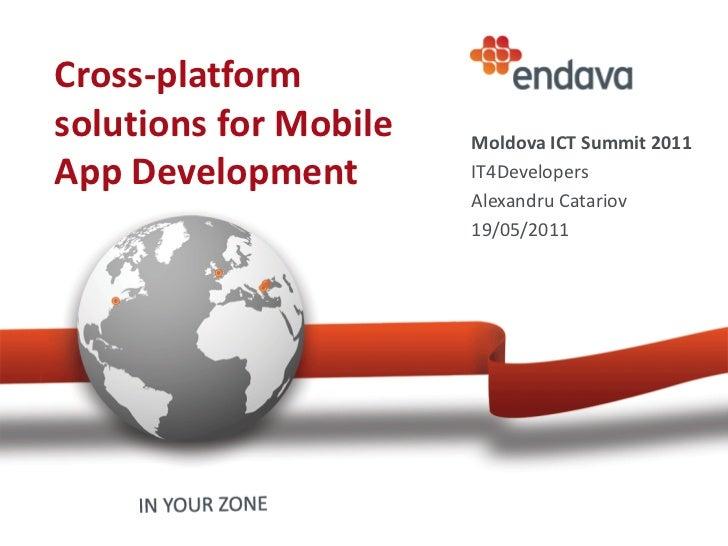 Cross platform solutions for Mobile App Development