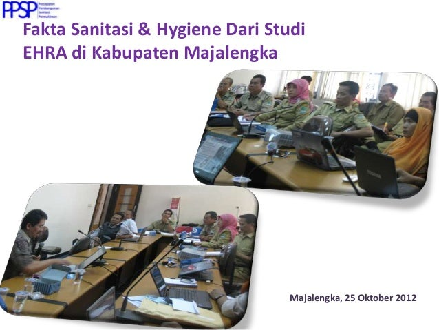 Studi Kasus Pelaksanaan Studi EHRA (Environmental Health Risk Assessment)