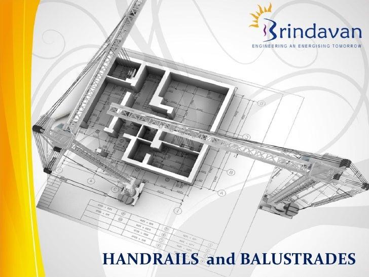 Handrails & Balustrades