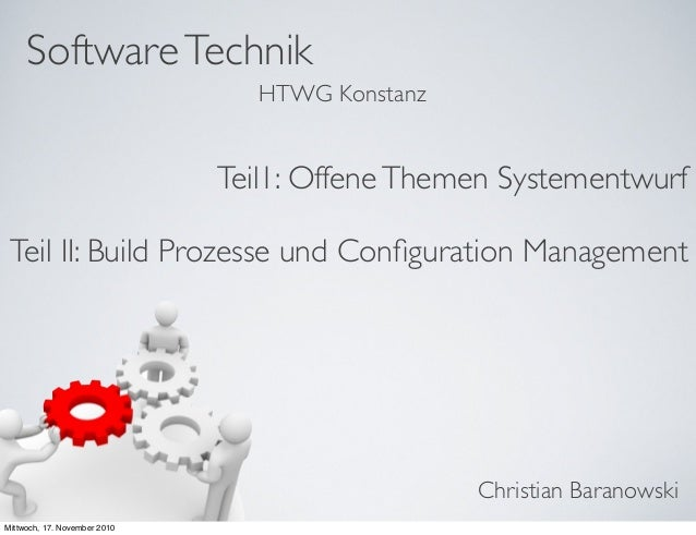 Build Prozesse und Configuration Management