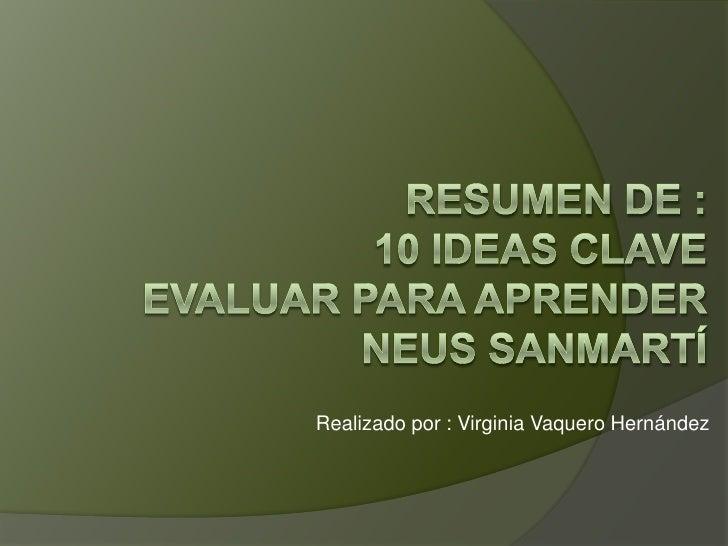 Realizado por : Virginia Vaquero Hernández