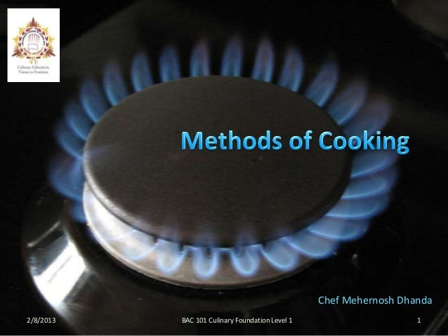 07  methods of cooking