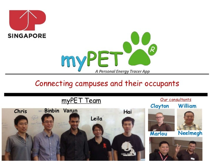 Connecting campuses and their occupants                myPET Team                Our consultants                          ...