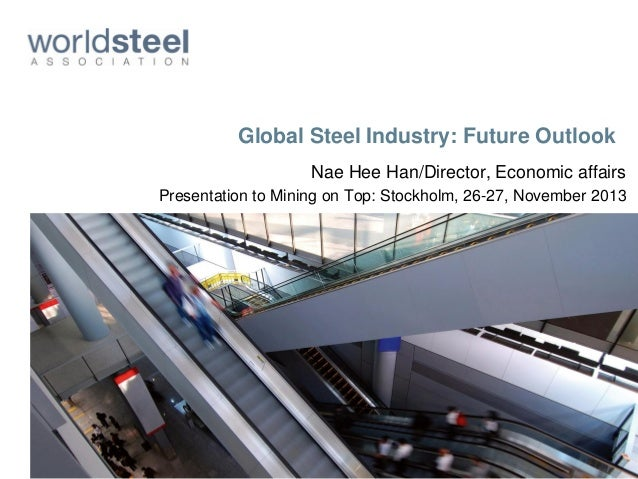 Global steel industry and in particular China: future outlook