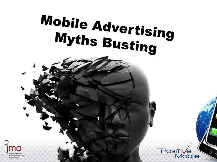 Mobile Advertising Myth Busting