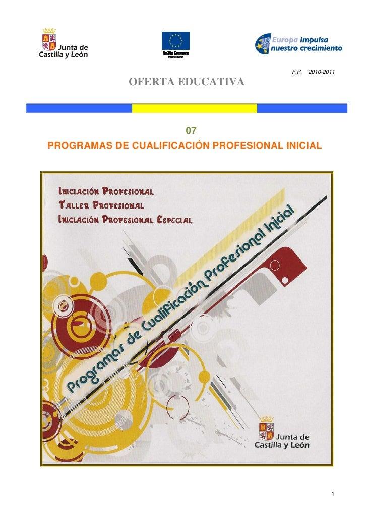 07 programas de cualificación profesional inicial  pcpi-