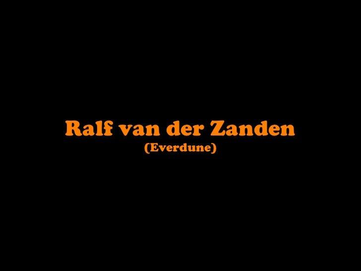 Ralf van der Zanden