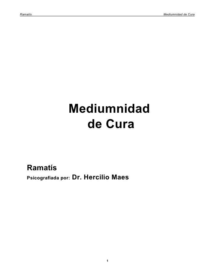 07 ramatís   mediumnidad de cura