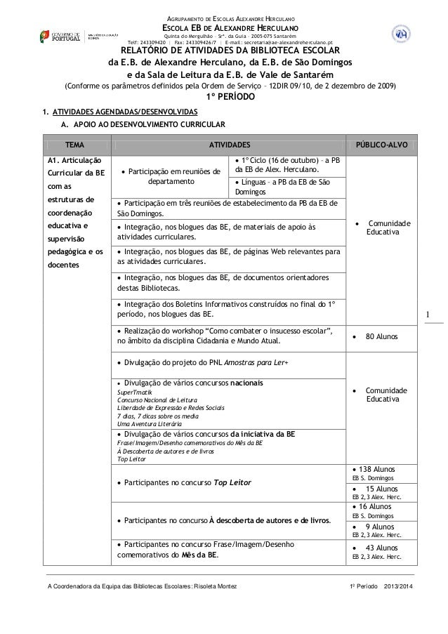 AGRUPAMENTO DE ESCOLAS ALEXANDRE HERCULANO  ESCOLA EB DE ALEXANDRE HERCULANO Quinta do Mergulhão – Srª. da Guia – 2005-075...