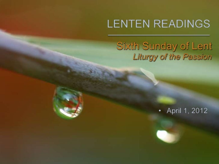 The Common English Bible - 6th Sunday in Lent