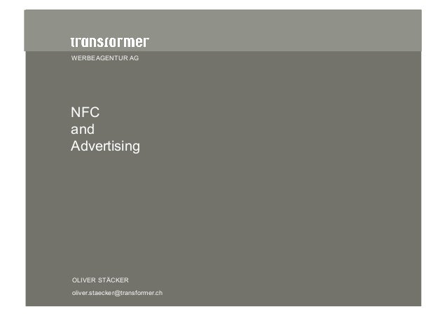 NFC and Advertising