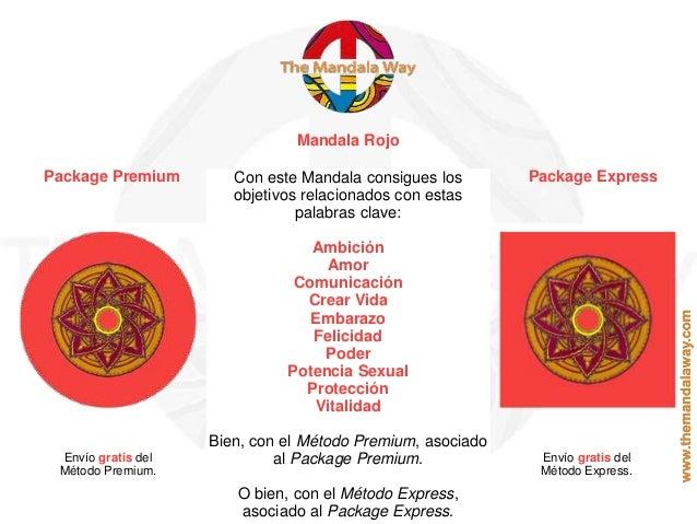 Mandala Rojo Package Premium Package ExpressCon este Mandala consigues los objetivos relacionados con estas palabras clave...