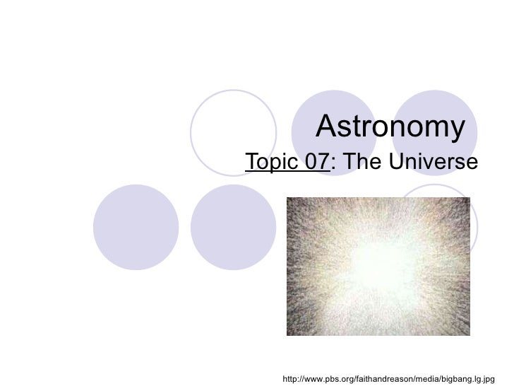 07 Universe Mc Neely