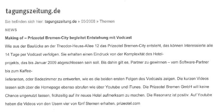 08.05.08 making of_prizeotel_tageszeitung