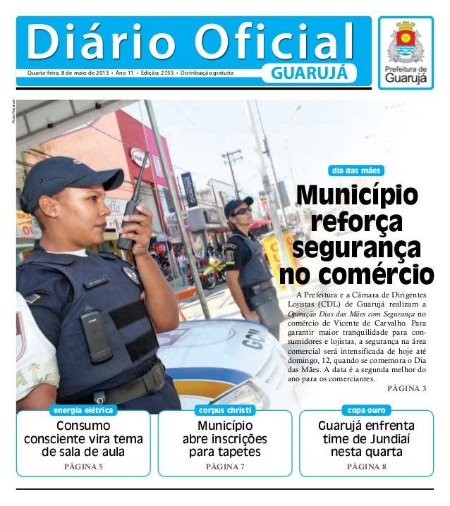 Dário Oficial de Guarujá