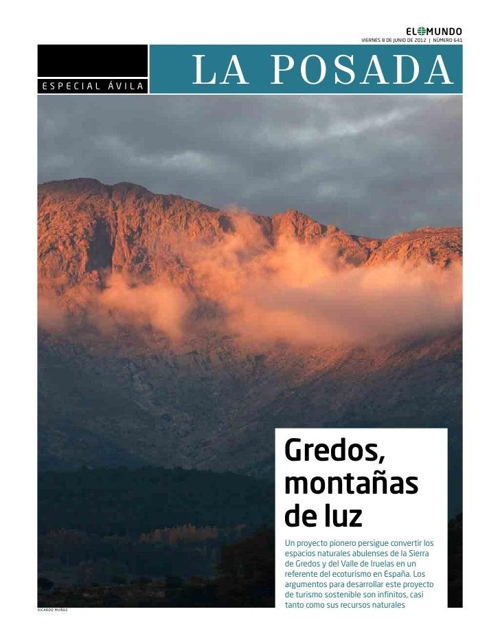 EL MUNDO                                                   VIERNES 8 DE JUNIO DE 2012 | NÚMERO 641 E S P E C I AL ÁV I L A...