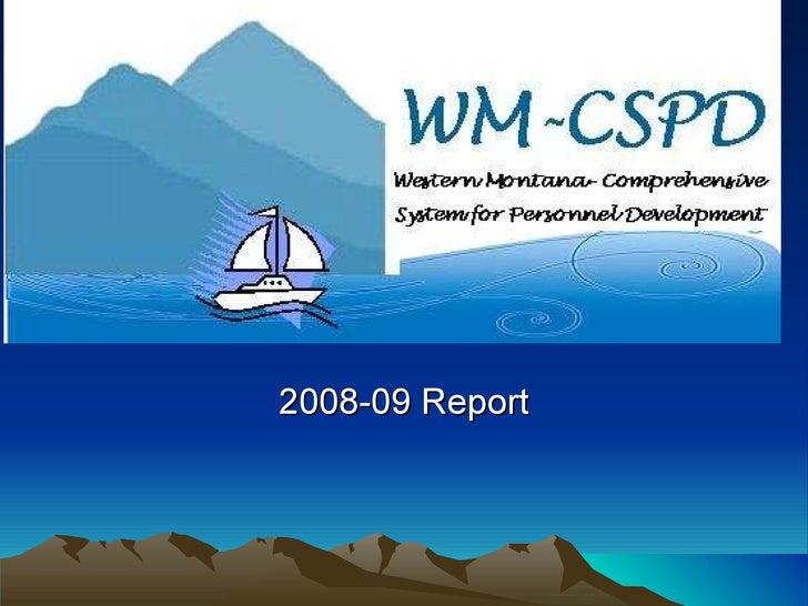 2008-09 Report